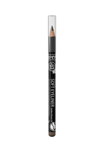 Lavera Oogpotlood/eyeliner soft gold BR04 (1.14 gram)