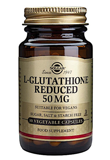 Solgar L-Glutathione Reduced 50mg (30 capsules)