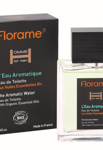 Florame Man aromatic water eau de toilette bio (100 ml)