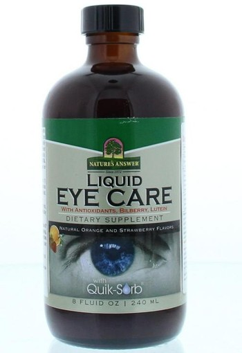 Natures Answer Liquid eye care (240 ml)