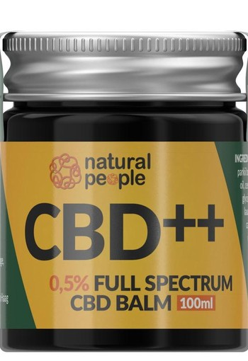 Natural People CBD Balm 0.5% (100 ml)