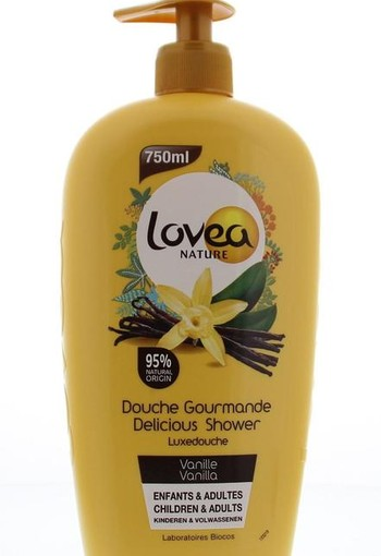 Lovea Shower gel vanilla (750 ml)