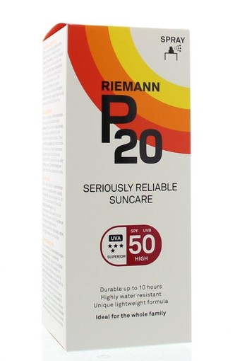 P20 Once a day factor 50 spray (200 ml)
