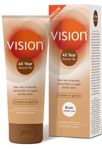 Vision Natural tan (150 ml)