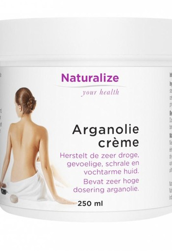 Naturalize Arganolie creme (250 ml)