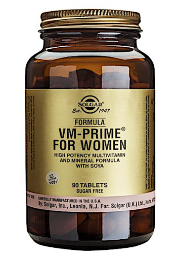 Solgar Vitamins Formula VM-Prime for Women (90 tabletten)