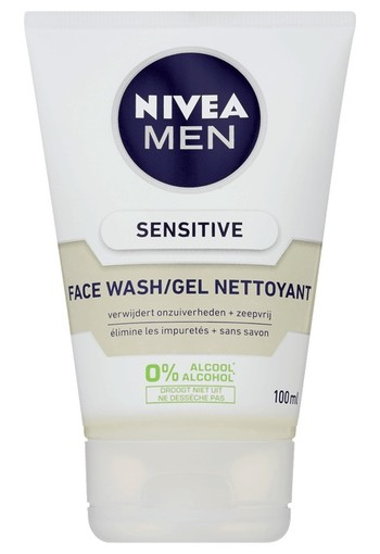 Nivea Men face wash sensitive (100 ml)
