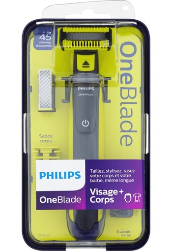 Philips One Blade Face + Body Hybride Styler QP2620/20