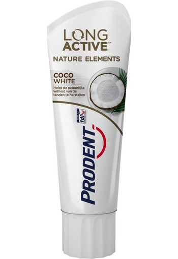 Prodent Long Active Nature Elements Coco White Tandpasta 75 ml