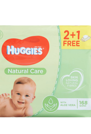 Huggies Natural Care Wipes 3 stuks