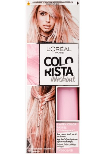 L'Oréal Paris Colorista Washout Haarverf Rose Pastel