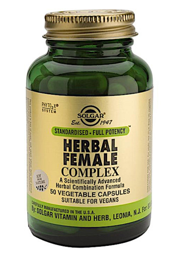 Solgar Vitamins Herbal Female Complex (50 capsules)