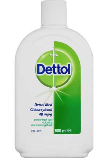 Dettol 48 mg/ml Chloroxylenol Ontsmettingsmiddel 500 ml
