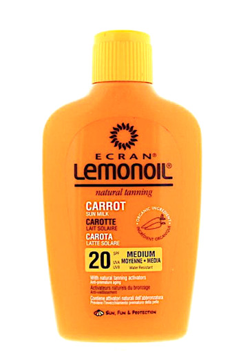 Ecran Sun milk carrot SPF 20 (200 ml)