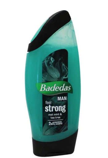 Badedas Douchegel men 2 in 1 feel strong (250 ml)