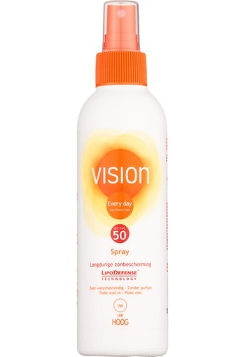 Vision Every Day Langdurige Zonbescherming Spray SPF50 200ml