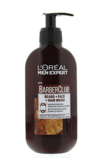 Loreal Barber club wash (250 ml)