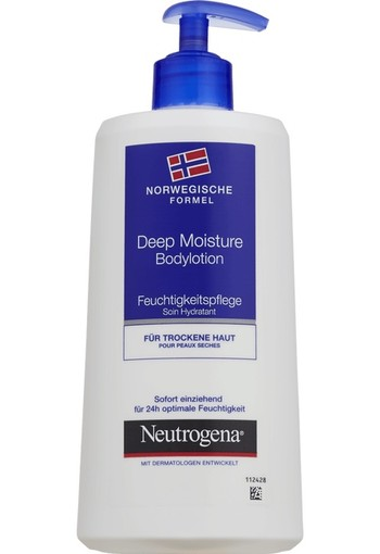 Neutrogena Deep Moisturising Bodylotion 400 ml