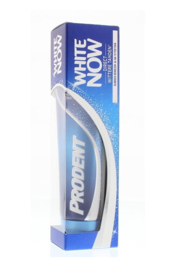 Prodent Tandpasta white now (75 ml)