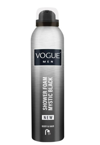 Vogue Men mystic black shower foam (200 ml)