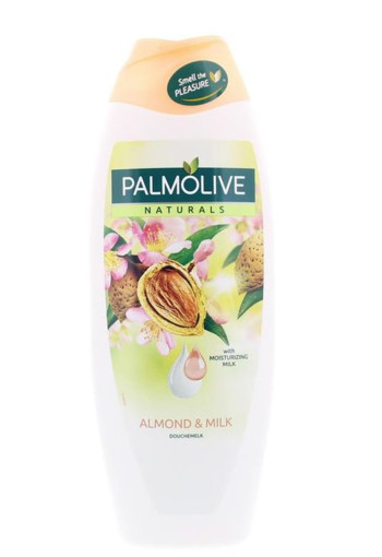 Palmolive Natural bad amandel (650 ml)