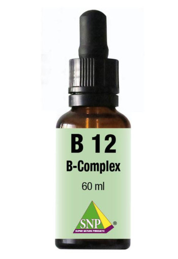 SNP Vitamine B12 B complex sublingual (60 ml)