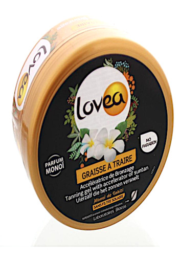Lovea Suntan accellerating tanning gel (150 ml)