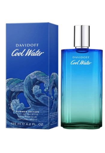 Davidoff Cool Water Man Summer limited edition eau de toilette 125 ml
