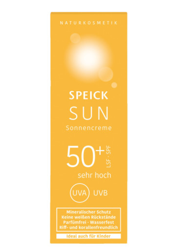 Speick Zonnecreme SPF50+ tube (60 ml)