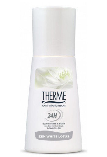 Therme Anti transpirant extra dry zen white lotus roller (60 ml)