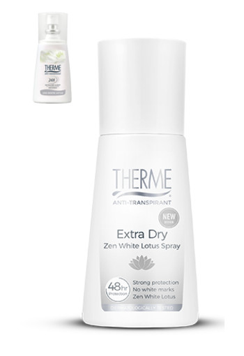 Therme Zen white lotus anti transpirant extra dry spray (75 ml)