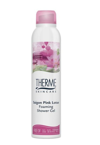 Therme Foam shower Saigon pink lotion bio (200 ml)