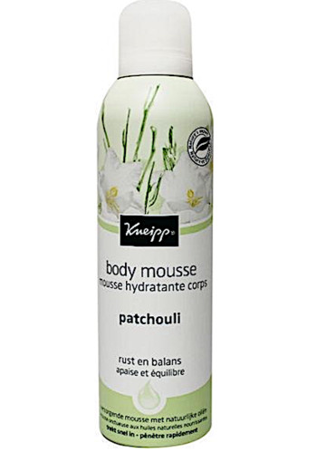 Kneipp Body mousse patchouli 218 gr. bodycreme/gel/lotion