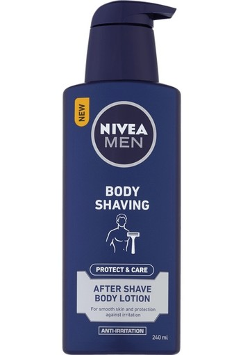 NIVEA MEN Protect & Care Body Shaving Aftershave Body Lotion 240 ml