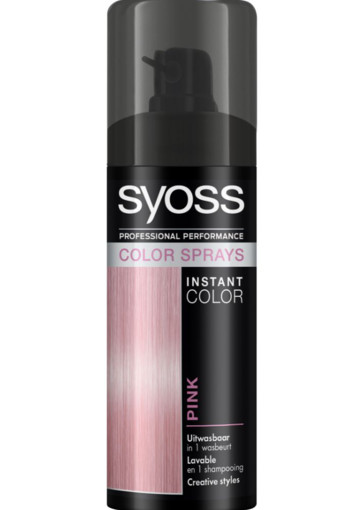 Syoss Colors spray candy pink (1 stuks)