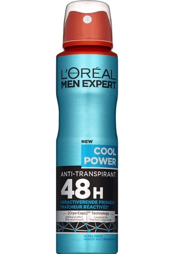 L'Oréal Paris Men Expert Cool Power Antitranspirant Spray 150ml