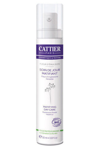 Cattier Dagcreme matterend (50 ml)