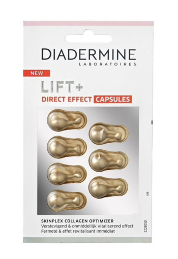 Diadermine Lift+ direct effect capsules (7 capsules)