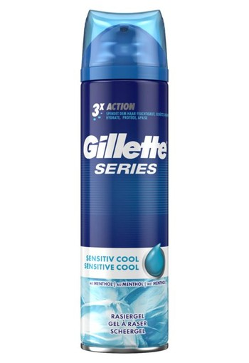 Gillette Cool scheergel (200 ml)