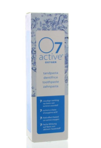 O7 Active Tandpasta active tube (75 ml)