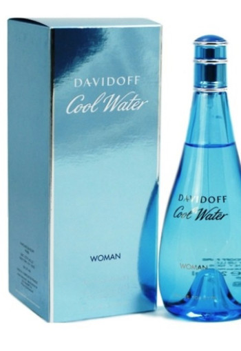 Davidoff Cool water woman eau de toilette (100 ml)
