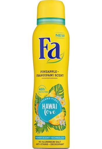 FA Deodorant spray Hawaii love (150 ml)