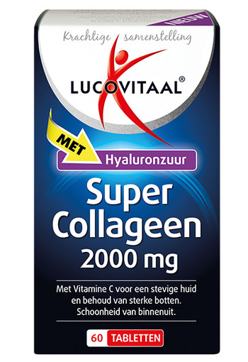 Lucovitaal Super collageen 2000 (60 tabletten)