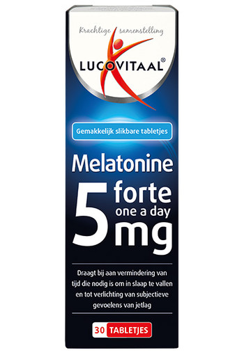 Lucovitaal Melatonine 5 mg forte (30 tabletten)