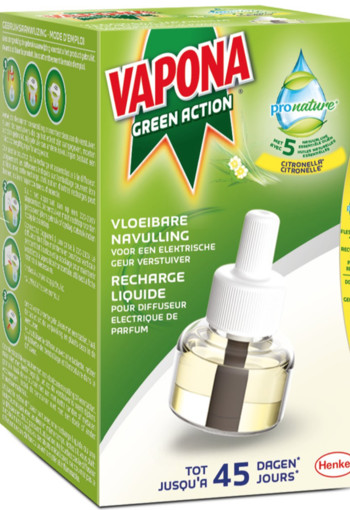 Vapona Pronature liquid refill (1 stuks)