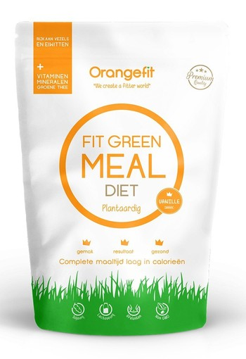 Orange Fit Green Meal Diet Blueberry