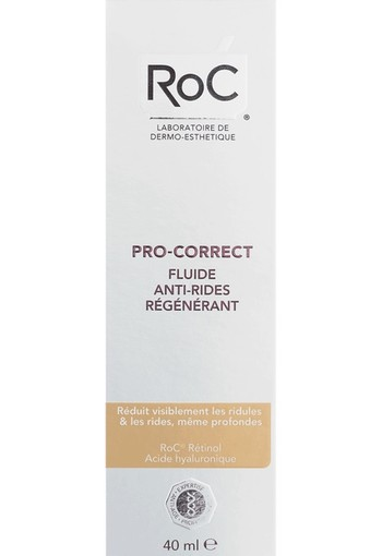 ROC Pro correct anti wrinkle fluid (40 ml)