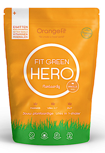 OrangeFit Fit Green Hero Vanille  850gram