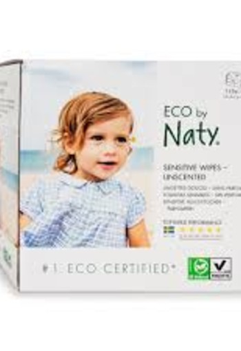 Eco by Nature babylotiondoekjes 56 DOOS VAN 3
