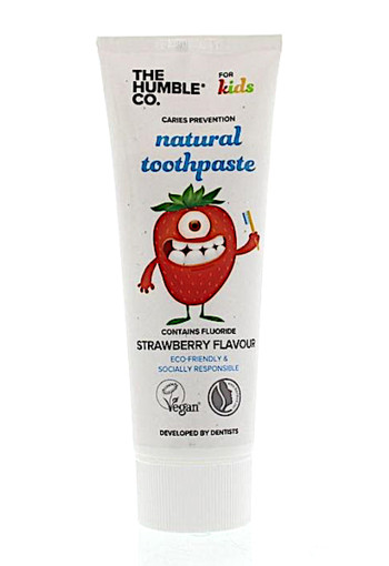 Humble Brush Tandpasta naturel kids (75 ml)